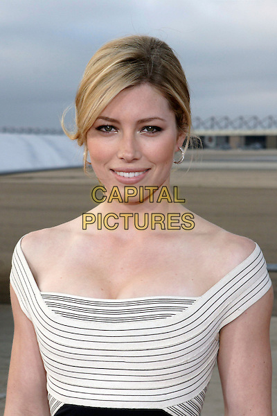 "JESSICA BIEL.World Film Premiere of Columbia Pictures' ""Stealth"" .held at the Naval Air Station North Island (NASNI), Coronado, California, USA,17 July 2005..portrait headshot.Ref: ADM.www.capitalpictures.com.sales@capitalpictures.com.©Zach Lipp /AdMedia/Capital Pictures."