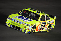 Oct. 15, 2009; Concord, NC, USA; NASCAR Sprint Cup Series driver Paul Menard during qualifying for the Banking 500 at Lowes Motor Speedway. Mandatory Credit: Mark J. Rebilas-