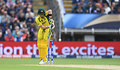 June 10th 2017, Edgbaston, Birmingham, England;  ICC Champions Trophy Cricket, England versus Australia; Steve Smith of Australia plays off his legs