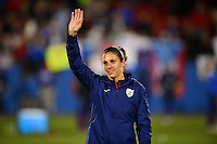 Frisco, TX. - February 15, 2016: The U.S. Women's National team defeat Puerto Rico 10-0 and win the group stage in CONCACAF Women's Olympic Qualifying at Toyota Stadium.