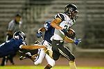 Lawndale, CA 10/18/13 - Rory Hubbard (Peninsula #22) and Edson Santos (Leuzinger #5)