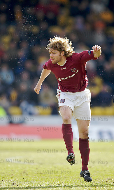 Robbie Neilson, Hearts.stock season 2005-2006.pic willie vass
