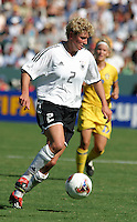 Kerstin Stegemann, Germany 2-1 over Sweden at the  WWC 2003 Championships.