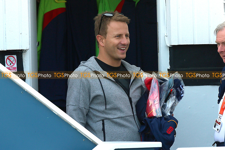 New Zealand cricketer Neil Wagner arrives at the ground and collects his Essex kit during Essex CCC vs Durham MCCU, English MCC University Match Cricket at The Cloudfm County Ground on 4th April 2017