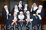 Nuns ready for some fun at the Churchill Variety Show on Sunday evening<br /> Kneeling l to r:  Michael O'Sullivan, John Scrope and Kieran Fitzgerald.<br /> Standing l to r: Triona Daly, Veronica and Malacy Kelly, Susan Browne, Sean O'Callaghan and Linda Browne.