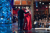 Allison Janney acceps the Oscar&reg; for performance by an actress in a supporting role for work on &ldquo;I, Tonya&rdquo; during the live ABC Telecast of The 90th Oscars&reg; at the Dolby&reg; Theatre in Hollywood, CA on Sunday, March 4, 2018.<br /> *Editorial Use Only*<br /> CAP/PLF/AMPAS<br /> Supplied by Capital Pictures