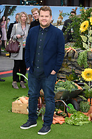 "James Corden<br /> arriving for ""Peter Rabbit"" premiere at the Vue West End, Leicester Square, London<br /> <br /> ©Ash Knotek  D3387  11/03/2018"