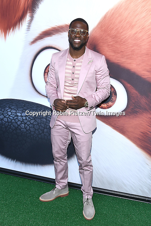 actor Kevin Hart attends the New York Premiere of &quot;The Secret Life of Pets&quot; on June 25, 2016 at David H Koch Theater at Lincoln Center in New York, New York, USA. <br /> <br /> photo by Robin Platzer/Twin Images<br />  <br /> phone number 212-935-0770