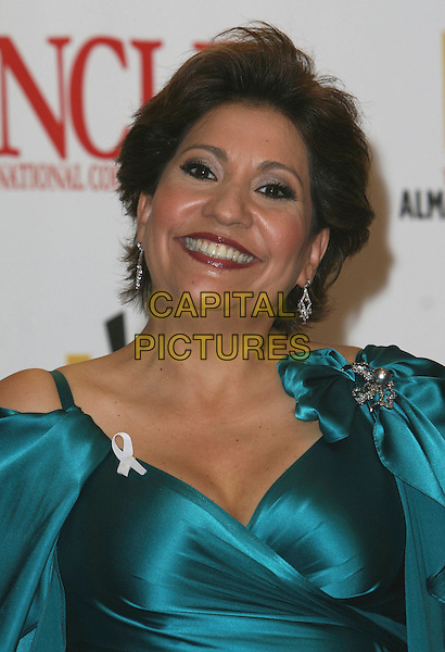 JANET MURGUIA.2007 NCLR ALMA Awards - Press Room held at the Pasadena Civic Center, Pasadena, California, USA..June 1st, 2007.headshot portrait green turquoise brooch white ribbon .CAP/ADM/CH.©Charles Harris/AdMedia/Capital Pictures *** Local Caption *** .