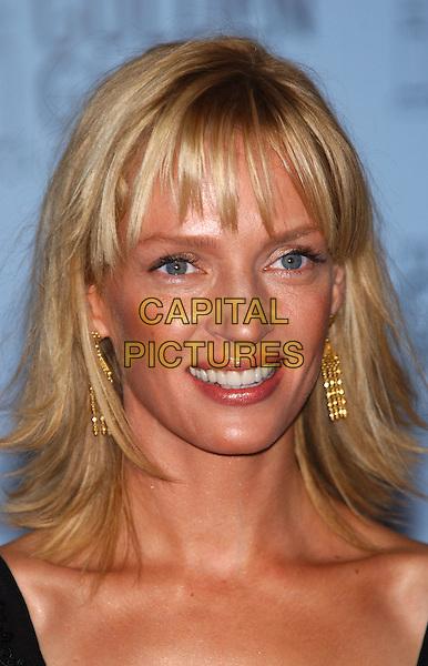 UMA THURMAN.60th Golden Globe Awards.www.capitalpictures.com.sales@capitalpictures.com.© Capital Pictures.hair, tanned, tan
