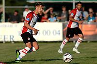 LEER - Voetbal , Werder Bremen - FC Emmen, oefenduel, seizoen 2018--2019, 04-09-2018, FC Emmen speler Reuven Niemeijer
