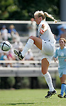 Carolyn Riggs, of Duke, on Sunday September 18th, 2005 at Koskinen Stadium in Durham, North Carolina. The Duke University Blue Devils defeated the University of San Diego Toreros 5-0 during the Duke adidas Classic soccer tournament.