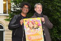 SEBASTIEN FOLIN, ANTOINE DE CAUNES - CONFERENCE DE PRESSE SOLIDAYS 2016 'SOLIDAYS OF LOVE'