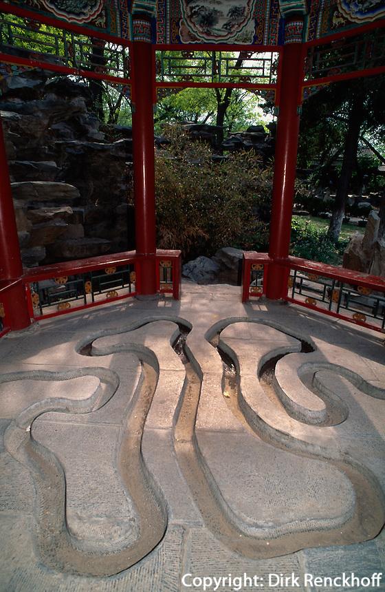 China, Peking, Residenz des Prinzen Gong, Bach der schwebenden Becher