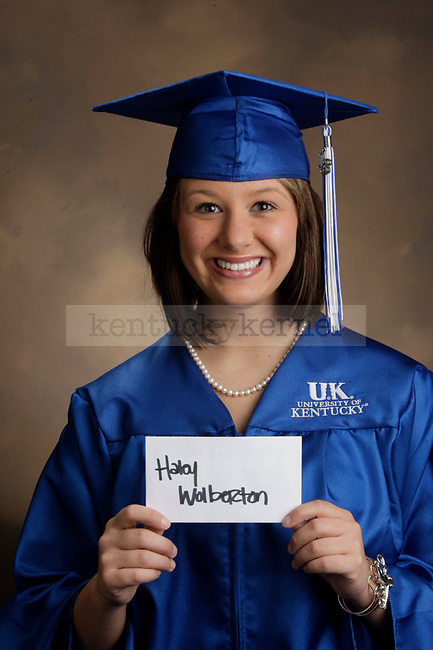 Wolberton, Haley photographed during the Feb/Mar, 2013, Grad Salute in Lexington, Ky.