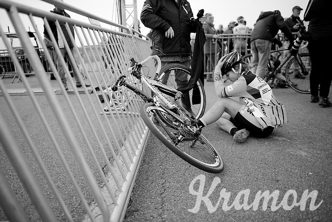 post-race suffering<br /> <br /> Koksijde CX World Cup 2014