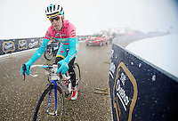 2013 Giro d'Italia.stage 20: Silandro - Tre Cime di Lavaredo..Vincenzo Nibali (ITA) on his way to winning the stage towards Tre Cime di Lavaredo (2304m).