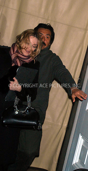 madonna steps out for a night on the town in nyc.   bocklet