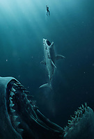 The Meg (2018) <br /> Promotional art<br /> *Filmstill - Editorial Use Only*<br /> CAP/MFS<br /> Image supplied by Capital Pictures