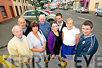 Boherbue Rose of Tralee Street Party is taking place on Saturday at 5.30pm just before the parade. Pictured getting ready for the event on Tuesday were, front row, from left: Johnny Ryle, Anne Connolly, Alice O'Sullivan, Dr. Bridget O'Brien and Cllr. Cathal Foley. Back row, from left: Tom Foley, Tony McElligott and Edward Kenny.