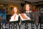 Tasting Ballybunion : Attending the Tasting Ballybunion fund raising event in aid of the Ballybunion Sea & Cliff Rescue at the Listowel Arms Hotel on Saturday night last were Emma & Niamh Lynch of Niamh Lynch Cakes, Asdee.
