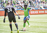 May 31, 2014: CenturyLink Field, Seattle, Washington:  as Real Salt Lake takes on Seattle Sounders FC.