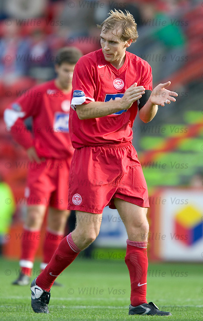 Russell Anderson, Aberdeen.stock season 2004-2005.pic willie vass