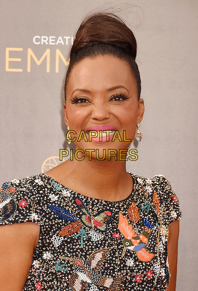 LOS ANGELES, CA - SEPTEMBER 11: Actress Aisha Tyler attends the 2016 Creative Arts Emmy Awards held at Microsoft Theater on September 11, 2016 in Los Angeles, California.<br /> CAP/ROT/TM<br /> &copy;TM/ROT/Capital Pictures