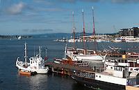 Norwegen, Oslo, Anleger am Rathausplatz