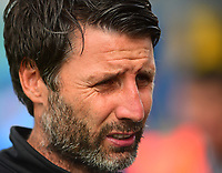 Lincoln City manager Danny Cowley<br /> <br /> Photographer Andrew Vaughan/CameraSport<br /> <br /> The EFL Sky Bet League One - Macclesfield Town v Lincoln City - Saturday 15th September 2018 - Moss Rose - Macclesfield<br /> <br /> World Copyright &copy; 2018 CameraSport. All rights reserved. 43 Linden Ave. Countesthorpe. Leicester. England. LE8 5PG - Tel: +44 (0) 116 277 4147 - admin@camerasport.com - www.camerasport.com