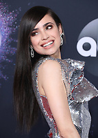LOS ANGELES, CA - NOVEMBER 24:  Sofia Carson at the 2019 American Music Awards at the Microsoft Theater on November 24, 2019 in Los Angeles, California. (Photo by Frank Micelotta/PictureGroup)