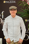 French actor Tcheky Karyo poses during a photocall as part of the 54th Monte-Carlo Television Festival on June 8, 2014 in Monaco.