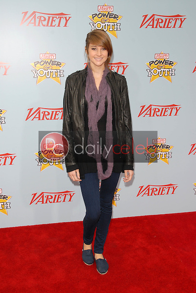 """Shailene Woodley<br /> at Variety's 3rd Annual """"Power of Youth,"""" Paramount Studios, Hollywood, CA. 12-05-09<br /> David Edwards/DailyCeleb.com 818-249-4998"""