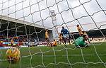 31.3.2018: Motherwell v Rangers: <br /> Jamie Murphy scores for Rangers