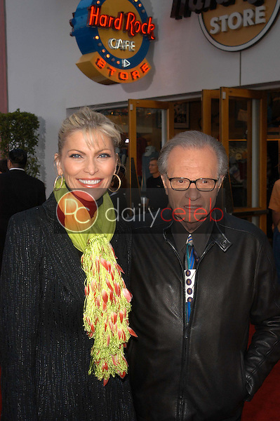 Shawn Southwick and Larry King
