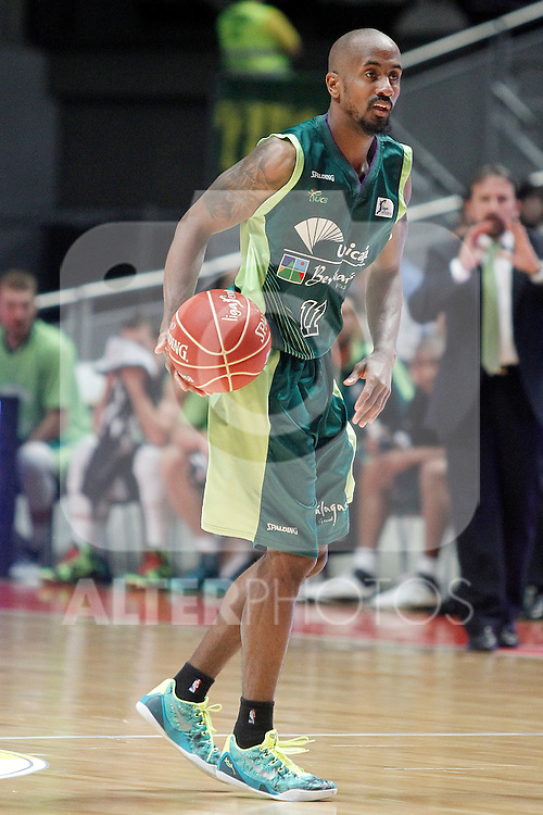 Unicaja's Earl Calloway during Liga Endesa ACB Semifinal match.June 6,2014. (ALTERPHOTOS/Acero)