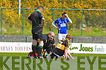 Concern for the Gooch after he landed badly on his ankle against  Laune Rangers during their  Club Championship semi final in Killarney on Sunday