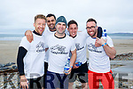 At the Banna Beach Beast Challenge on Saturday were Thomas O'Flynn, Rob Zaharia, Ian Quilligan, Ray Casey, Jonathan Foley