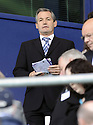 13/09/2008  Copyright Pic: James Stewart.File Name : sct_jspa23_falkirk_v_hearts.SCOTLAND BOSS GEORGE BURLEY TAKES HIS SEAT IN THE STAND TO WATCH HIS FORMER TEAM, HEARTS, GO 2-1 DOWN TO FALKIRK.James Stewart Photo Agency 19 Carronlea Drive, Falkirk. FK2 8DN      Vat Reg No. 607 6932 25.James Stewart Photo Agency 19 Carronlea Drive, Falkirk. FK2 8DN      Vat Reg No. 607 6932 25.Studio      : +44 (0)1324 611191 .Mobile      : +44 (0)7721 416997.E-mail  :  jim@jspa.co.uk.If you require further information then contact Jim Stewart on any of the numbers above........