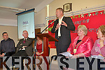 Holy Cross Mercy National School has become the first school in Kerry to raise an active flag in their school. A special celebration was held at the school last week to mark this important achievement and Miche?al O' Muircheartaigh was on hand to raise the flag and some of the school's students made a special celebration to the Kerry man to mark his retirement