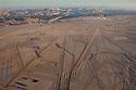 Namibia, Namib Desert, Dorob National Park, aerial of Husab Uranium Mine