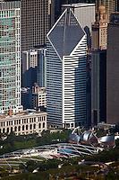 aerial photograph Crain Communications Building, Chicago, Illinois