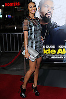 "HOLLYWOOD, CA - JANUARY 13: Keri Hilson at the Los Angeles Premiere Of Universal Pictures' ""Ride Along"" held at the TCL Chinese Theatre on January 13, 2014 in Hollywood, California. (Photo by David Acosta/Celebrity Monitor)"