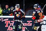 Stockholm 2013-12-28 Ishockey Hockeyallsvenskan Djurg&aring;rdens IF - Almtuna IS :  <br /> Djurg&aring;rden Nils Andersson dpepar<br /> (Foto: Kenta J&ouml;nsson) Nyckelord:  depp besviken besvikelse sorg ledsen deppig nedst&auml;md uppgiven sad disappointment disappointed dejected