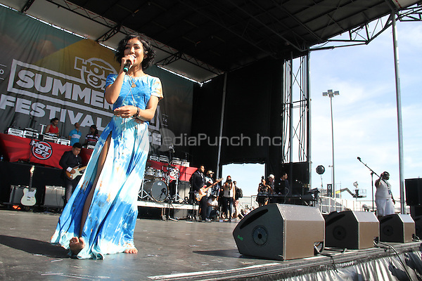 East Rutherford, NJ - June 1, 2014<br /> <br /> Jhene Aiko performs the Hot 97 Summer Jam 2014 concert at Metlife Stadium, June 1, 2014 in East Rutherford, NJ<br /> <br /> <br /> <br />  Walik Goshorn/MediaPunch