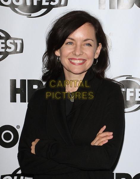 "Guinevere Turner.The 29th Annual Gay & Lesbian Film Festival Screening Of ""Circumstances""  Held At The DGA Theatre, West Hollywood, California, USA..July 12th, 2011.half length black jacket arms crossed.CAP/ADM/KB.©Kevan Brooks/AdMedia/Capital Pictures."
