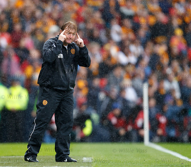 Stuart McCall tells his players to screw the net
