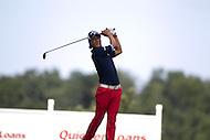 Gainesville, VA - August 2, 2015:    Ryo Ishikawa  tee shot on hole 12 at the Robert Trent Jones Golf Club in Gainesville, VA. August 2, 2015.  (Photo by Elliott Brown/Media Images International)