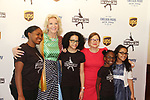 Elaine Wynn - Sharon Cohen & skaters - Figure Skating in Harlem's Champions in Life (in its 21st year) Benefit Gala recognizing the medal-winning 2018 US Olympic Figure Skating Team on May 1, 2018 at Pier Sixty at Chelsea Piers, New York City, New York. (Photo by Sue Coflin/Max Photo)