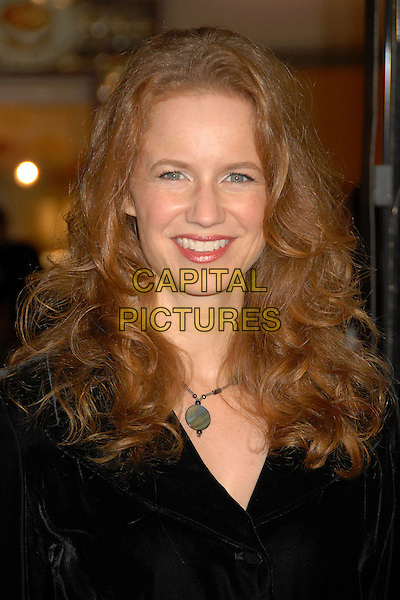 "LAURA CAYOUETTE.""Mad Money"" Los Angeles Premiere at Mann's Village Theatre, Westwood, California, USA..January 9th, 2008.headshot portrait necklace .CAP/ADM/BP.©Byron Purvis/AdMedia/Capital Pictures."